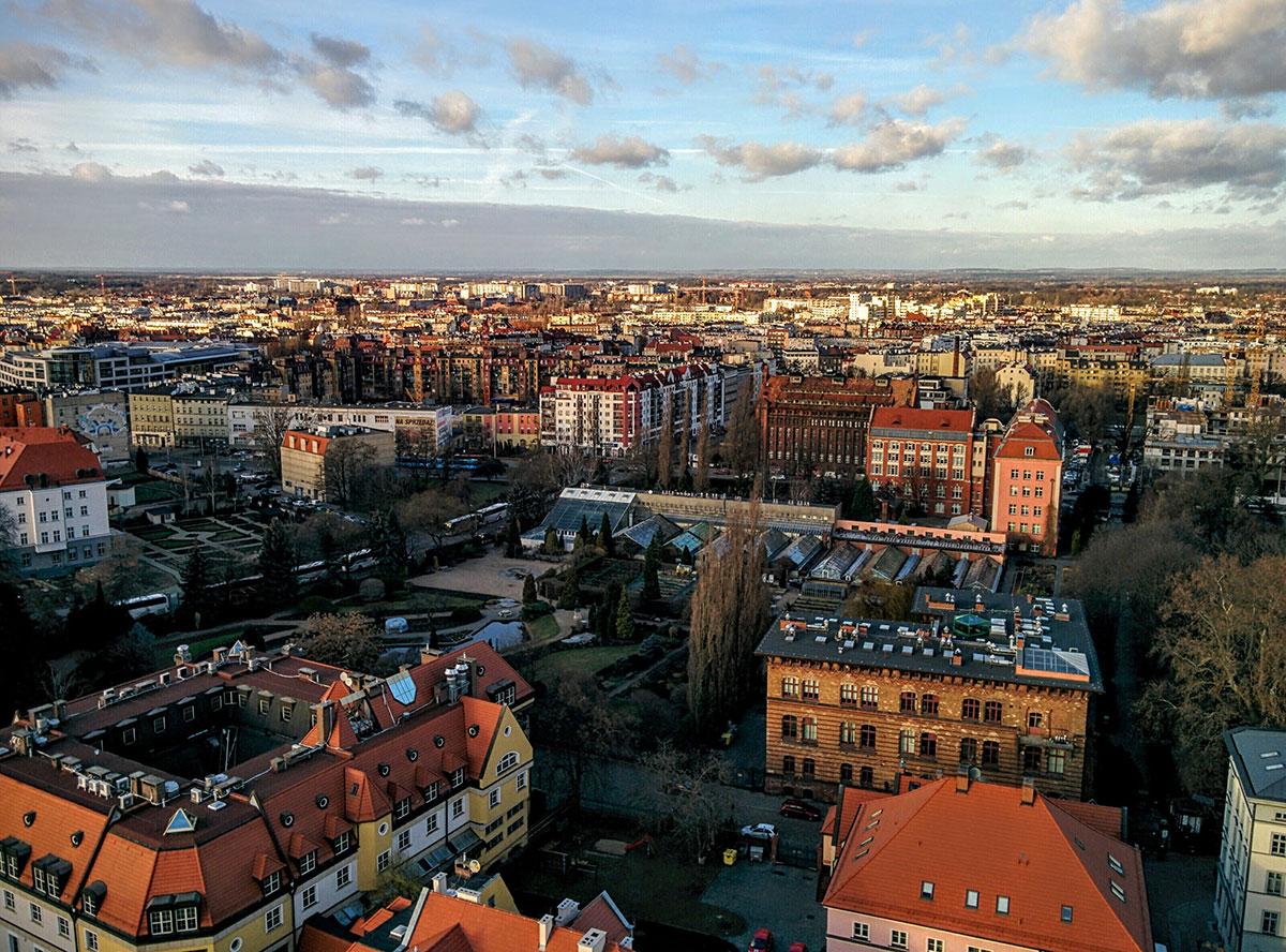 Fin de semana en Breslavia, Polonia
