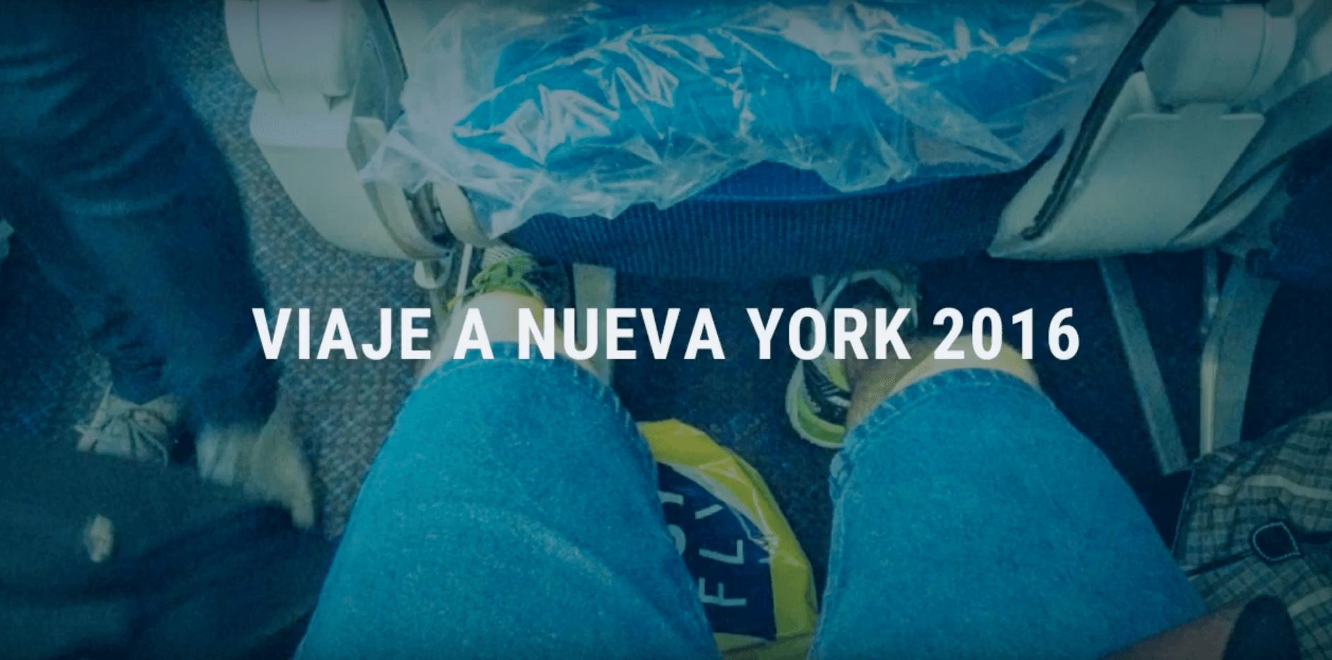 Vídeo viaje a Nueva York