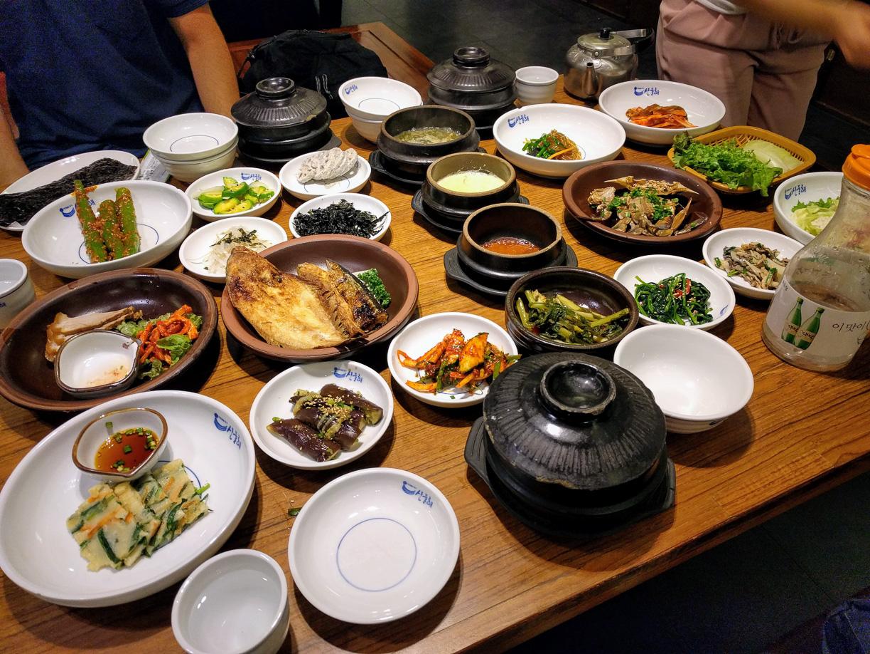Corea del Sur 2017: comer a más no poder