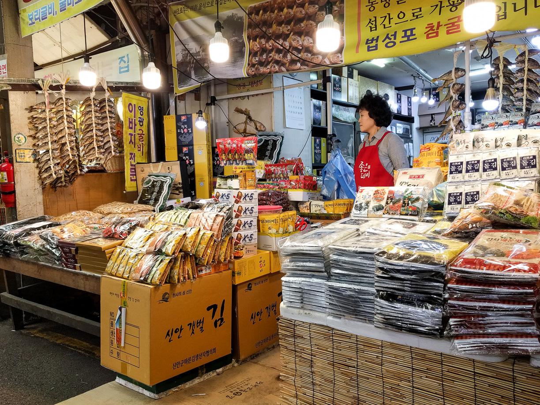 El mercado de Kwang Jang en Seúl