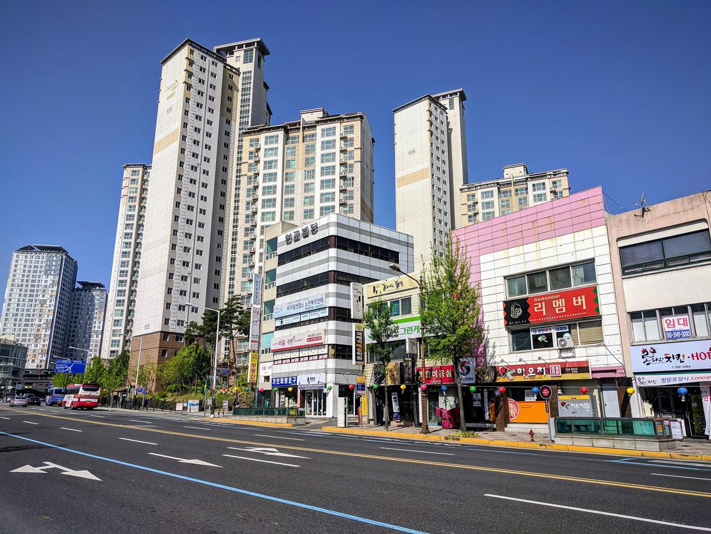 La ciudad dormitorio de Daejeon – Corea del Sur