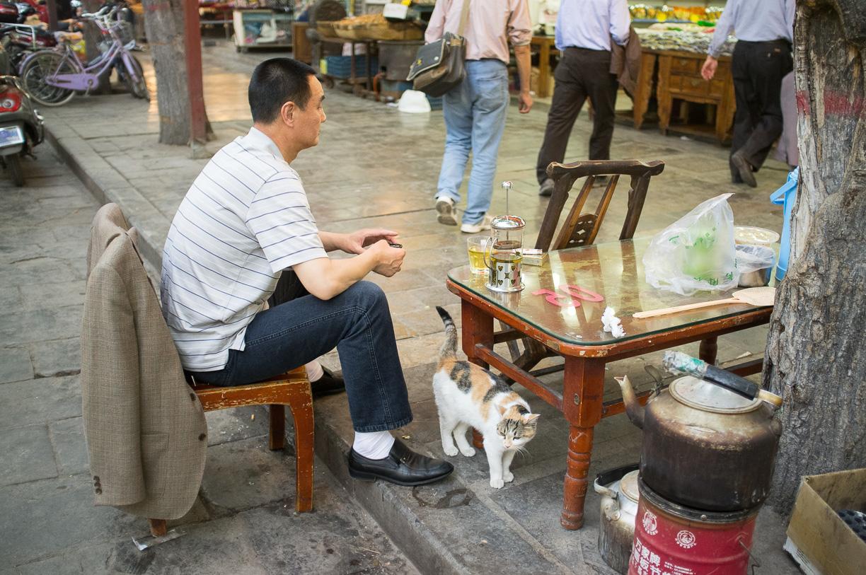 El barrio musulmán de Xi'an – China