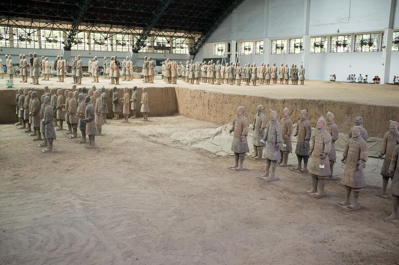 Los guerreros de terracota de Xi'an – China