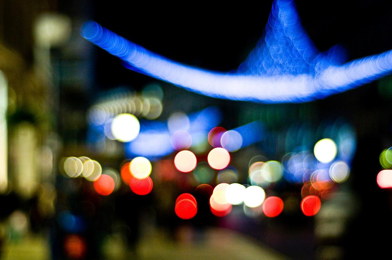 Luces en Oxford Street – Viaje a Londres