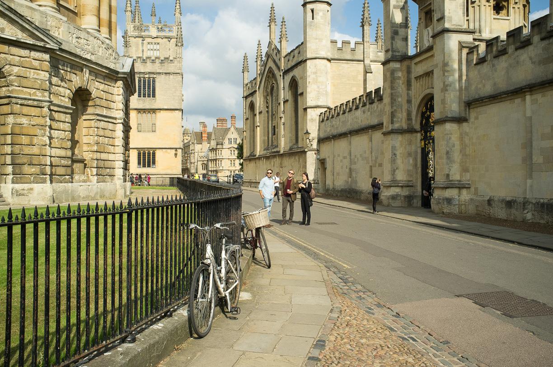 Oxford, donde parece vivir Harry Potter