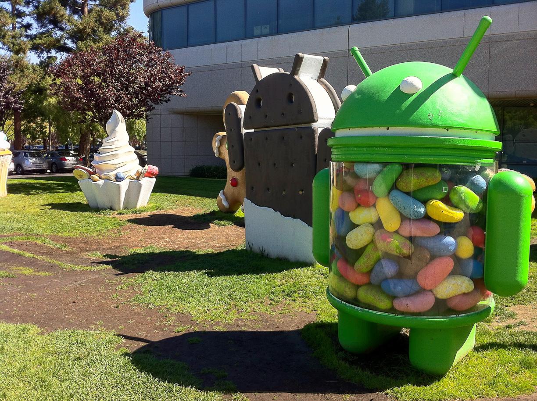 Visitando el campus de Google, el Googleplex