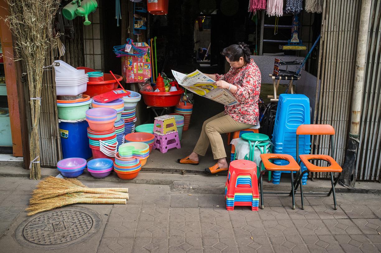 Fotografías de las calles de Xi'an, China