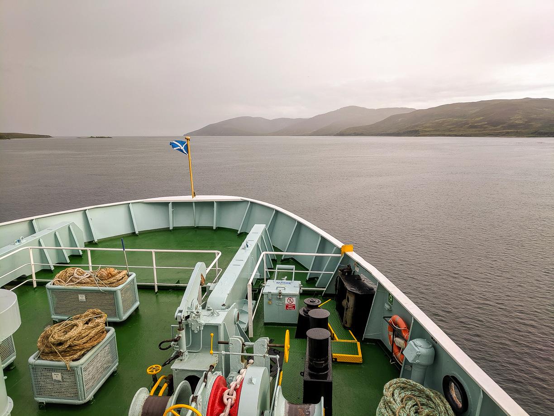 Port Askaig hasta Kennacraig en ferri – Viaje a Escocia