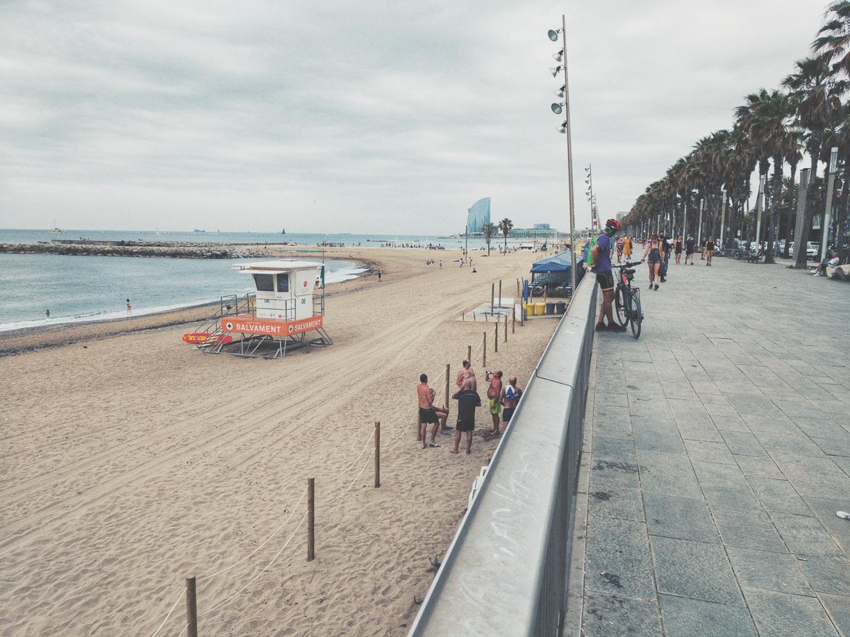 Playa de La Barceloneta (2021)